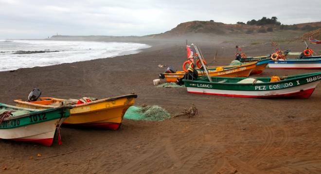 """Loanco Fishing Boats 30"""" x 20"""" $450.00"""