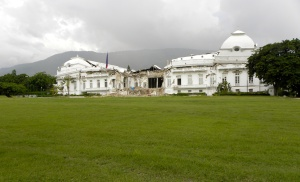 Haitian Presidential Palace After 2010 Earthquake ©2013 James Stuckey