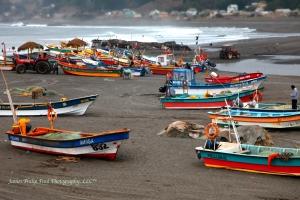 Fishing Boats in Pelluhue